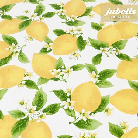Baumwolle beschichtet abwaschbar Citrus III 100 cm x 140 cm