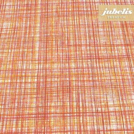 Baumwolle beschichtet strukturiert Justus orange III 140 cm Durchmesser rund