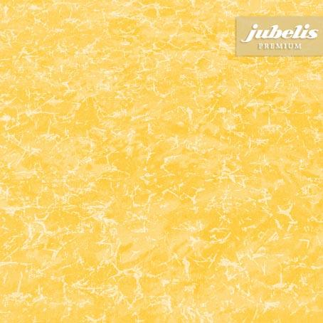 Baumwolle beschichtet abwaschbar Mara gelb III 140 cm Durchmesser rund