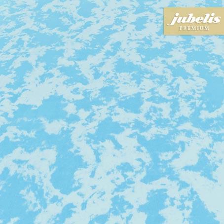 Baumwolle beschichtet abwaschbar Pit türkisblau H