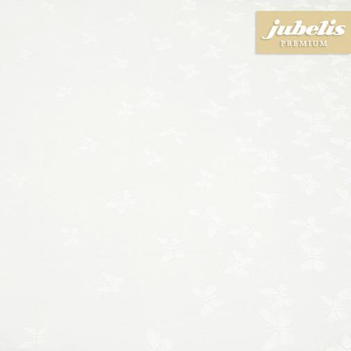 Baumwolle beschichtet abwaschbar Papillon weiß III