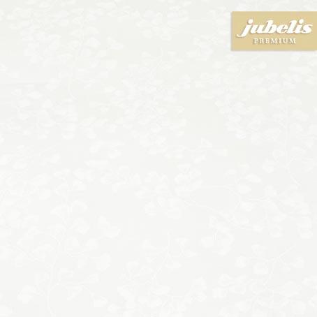 Baumwolle beschichtet abwaschbar Ginkgo weiß III 220 cm x 140 cm