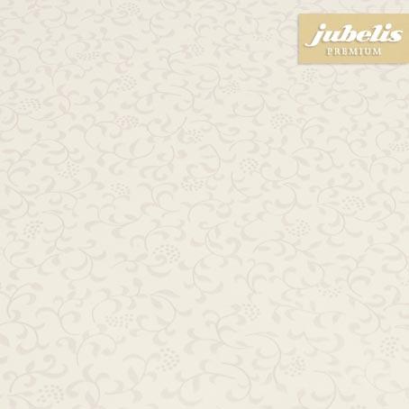 Wachstuch extradick mit Gewebe Sonja beige H 220 cm x 140 cm