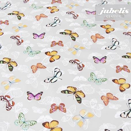 Wachstuch Schmetterling grau II 120 cm x 140 cm