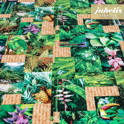 Textiler Luxus-Tischbelag Foresta pluviale III