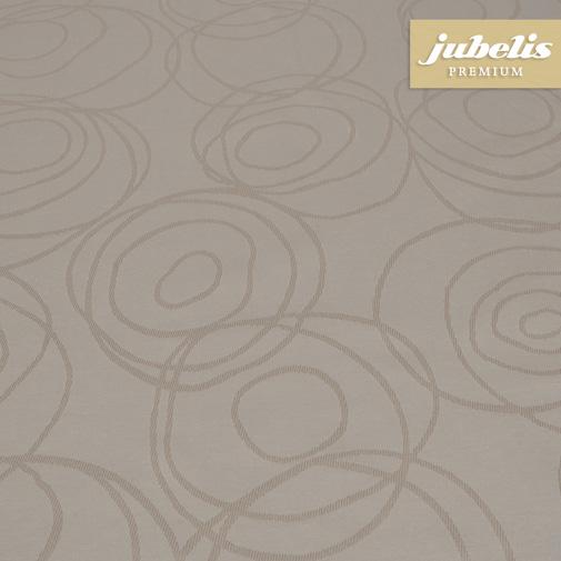 Textiler Luxus-Tischbelag Lana cremebraun III