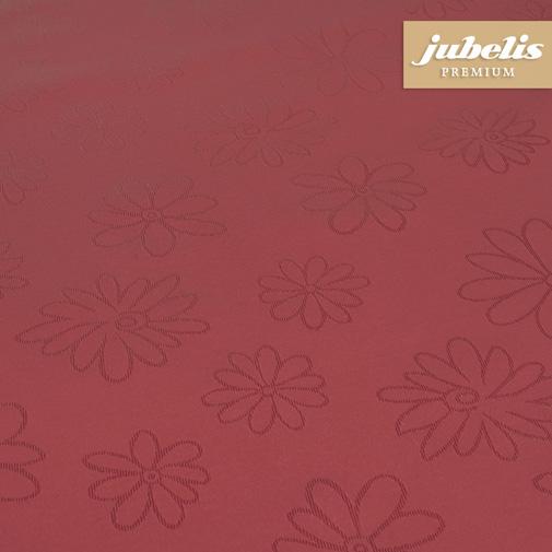 Textiler Luxus-Tischbelag Messina bordeaux  III