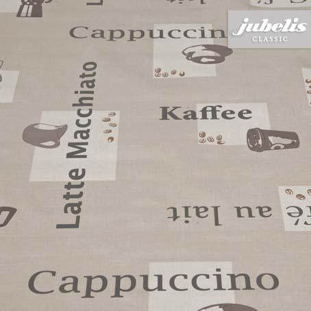 Wachstuch Cappuccino karamel H 180 cm x 140 cm