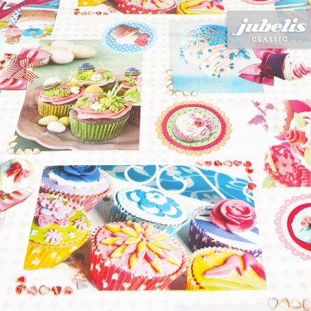 Wachstuch Cupcake H 120 cm x 140 cm