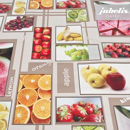 Wachstuch Früchte P 170 cm x 140 cm