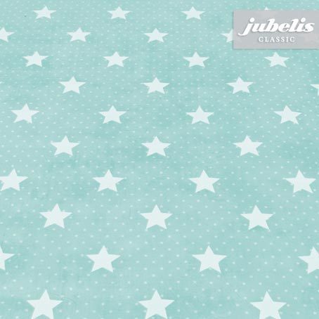 Wachstuch Starlet hellblau H 180 cm x 140 cm