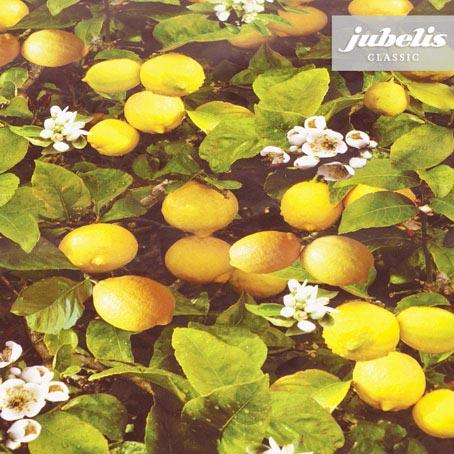 Wachstuch Zitronen P 110 cm x 140 cm Küchentisch