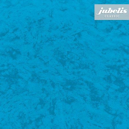 Wachstuch Marmor ozeanblau II 140 cm x 140 cm